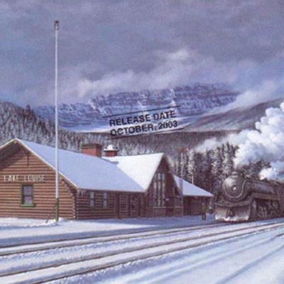 Lake Louise Station Max Jacquiard