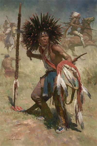 Lakota Sash Bearer, 1848 - Z. S. Liang