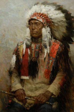 Lakota Warrior - Z. S. Liang