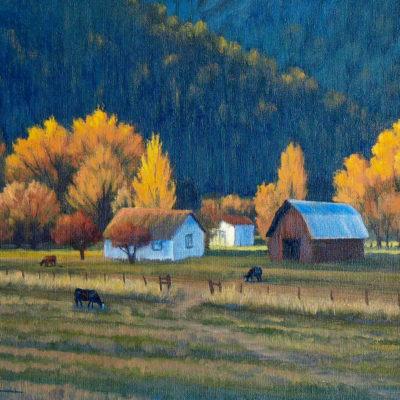 Last Light On The Farm Charles White