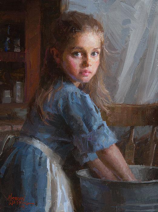 Laundry Girl - Morgan Weistling