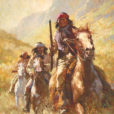 Legend Of Geronimo Howard Terpning