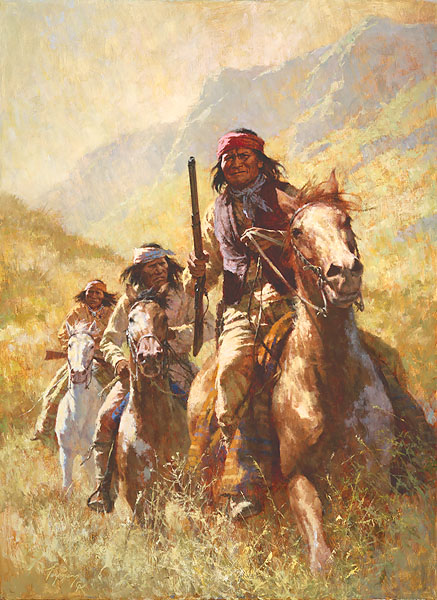 Legend Of Geronimo Howard Terpning