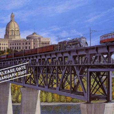 Legislative Building & High Level Bridge Max Jacquiard