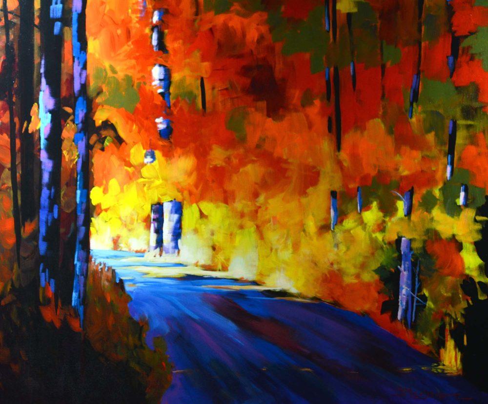 Light on a Biking Trail - Branko Marjanovic