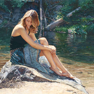 Listening To The River Steve Hanks