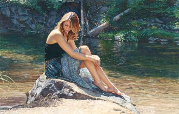 Listening To The River Steve Hanks