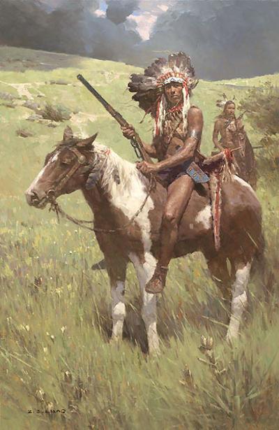 Little Big Horn, June 25, 1876 - Z. S. Liang