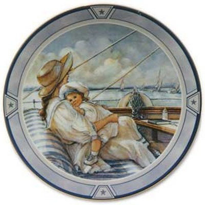 Little Sailor Collector Plate Trisha Romance