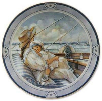 Little Sailor Collector Plate Trisha Romance