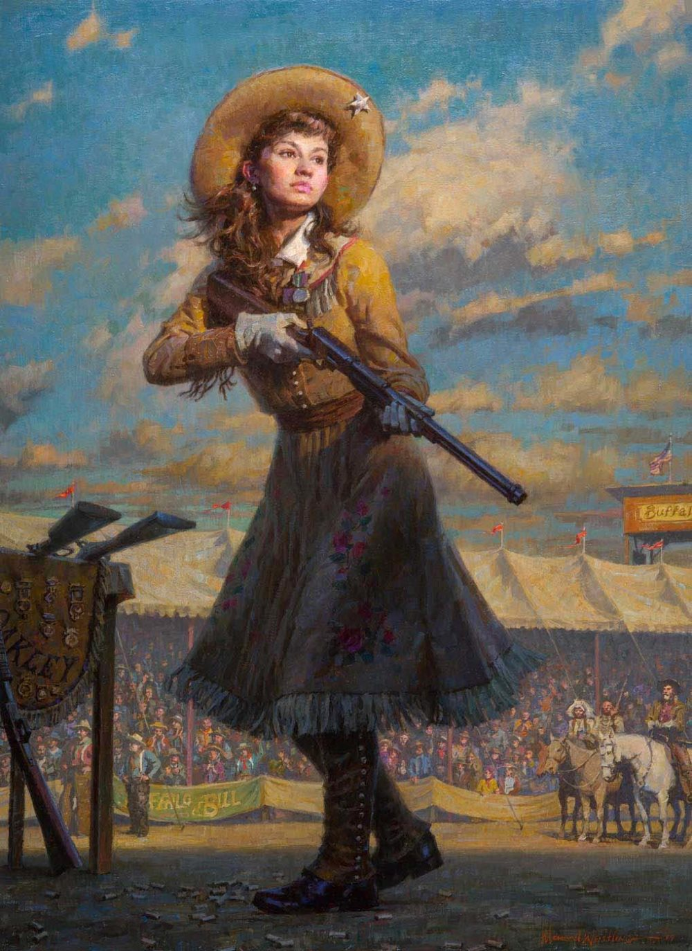 Little Sure Shot, Annie Oakley - Morgan Weistling