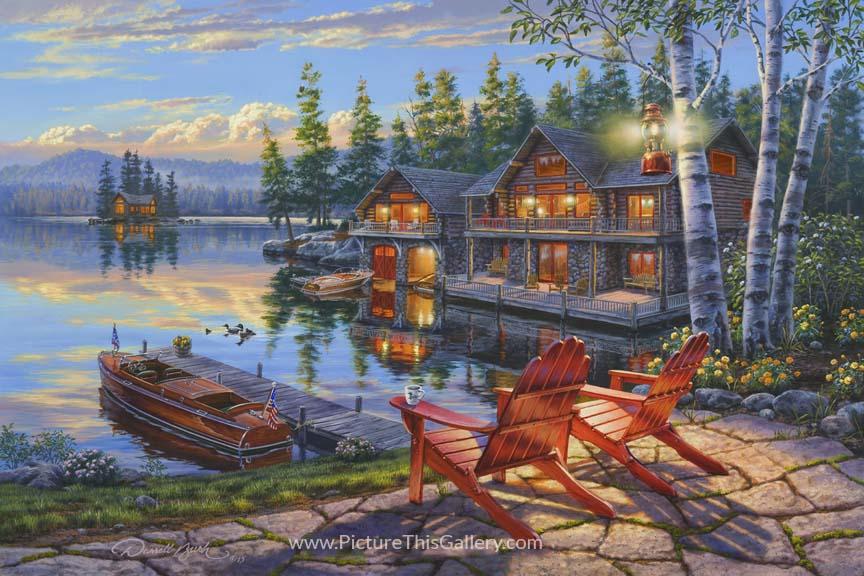 Loon Lake - Darrell Bush