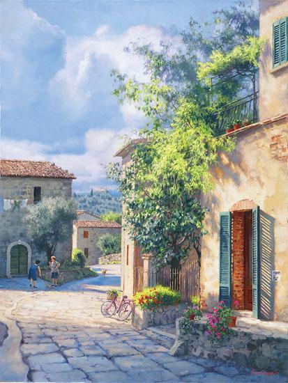 Lost In Chianti June Carey