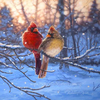 Love Birds - Darrell Bush