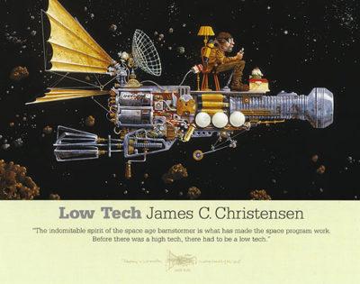 Low Tech - Poster - James Christensen