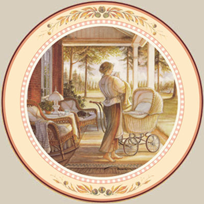 Lullaby Collector Plate Trisha Romance