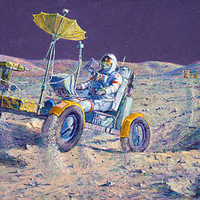Lunar Grand Prix Alan Bean