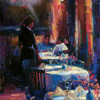 Lunch With Degas Michael Flohr