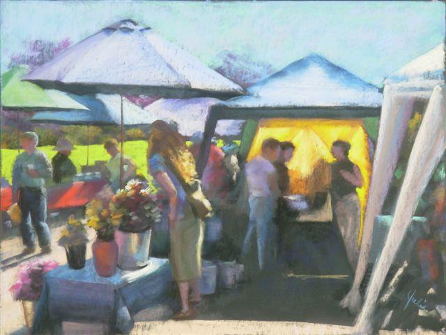 Market Day on Salt Spring – Julia Lucich