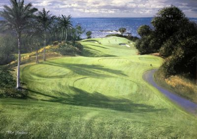 Mauna Kea 11th Hole - Peter Ellenshaw