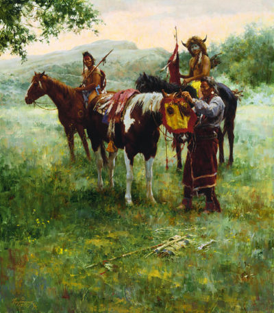 Medicine Horse Mask Howard Terpning.