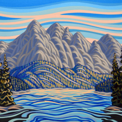 Medicine Lake - Art by Artist Patrick Markle
