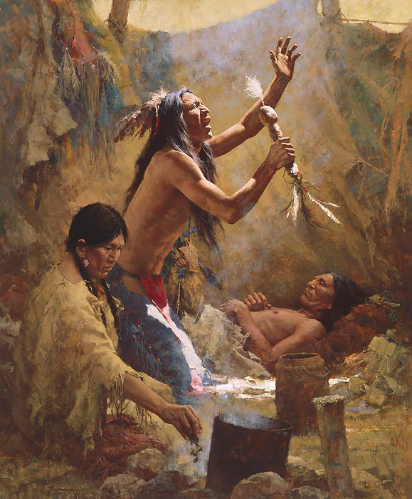 Medicine Man Of The Cheyenne Howard Terpnin