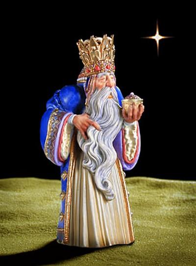 Melchoir The First Wise Man Porcelain James Christensen