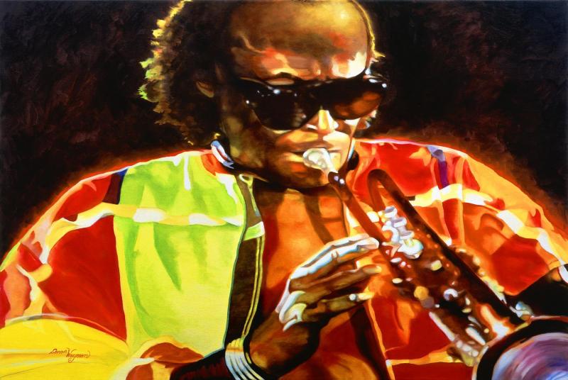 Miles Davis Donna Wayman