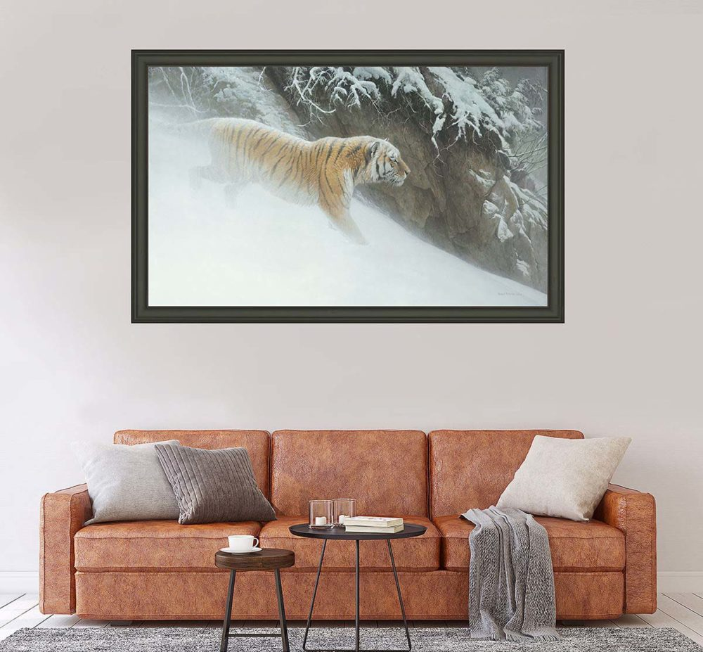 Momentum - Siberian Tiger - Showstopper Edition - Robert Bateman