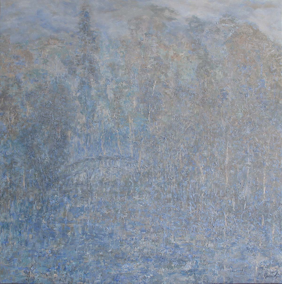 Monet's Bridge - Fiona Hoop