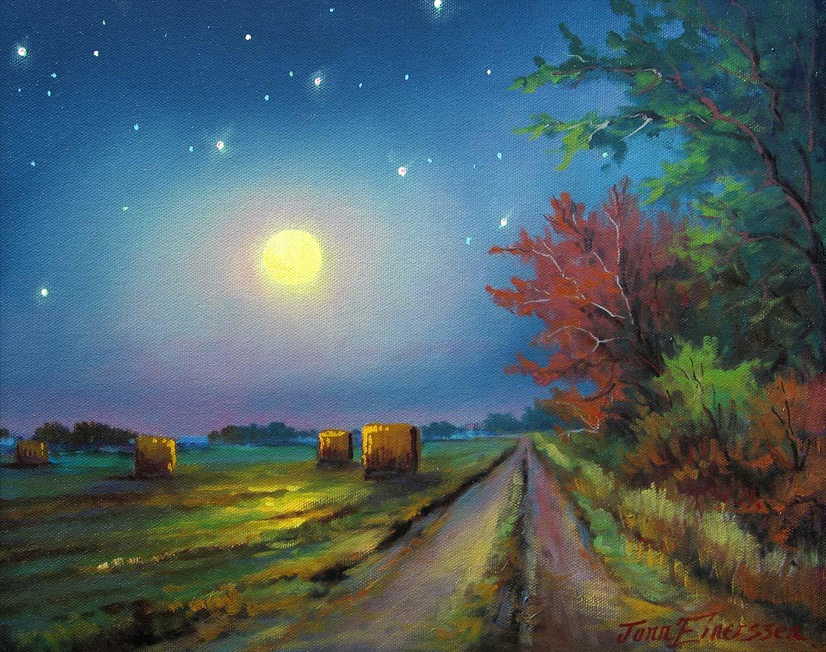 Moonlit Lane - Jonn Einerssen