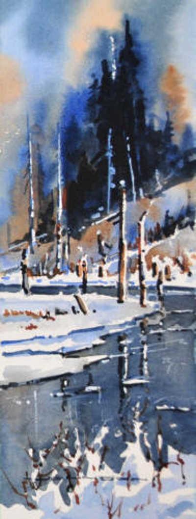 Moose Pond Gregg Johnson