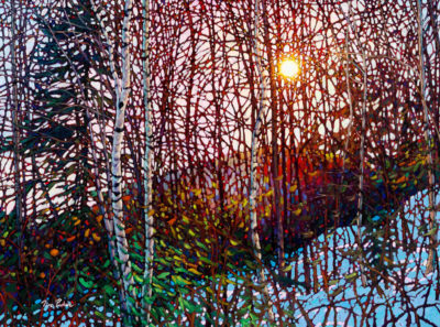 Morning Birches Mont Tremblant Tim Packer