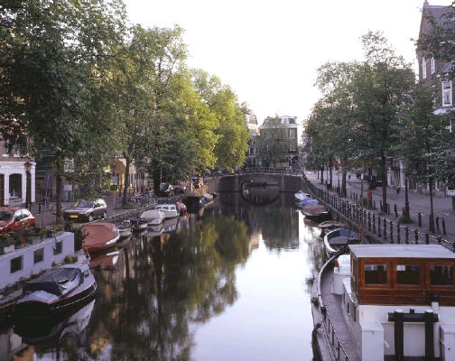 Morning Gracht, Amsterdam Fred Braakman