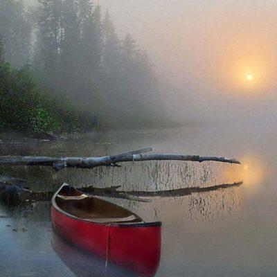 Morning Mist - John Zacharias