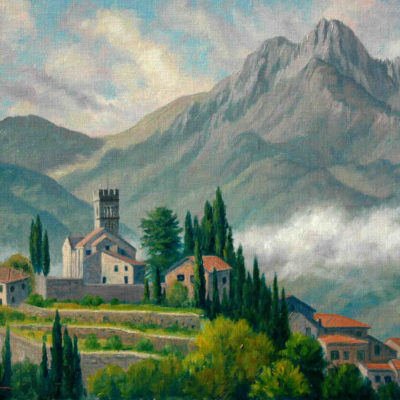 Morning In Barga Charles White