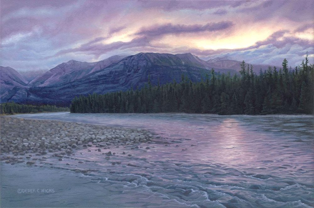 Morning on the Athabasca - Derek Wicks