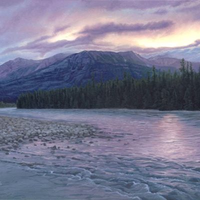 Morning on the Athabasca - Derek Wicks