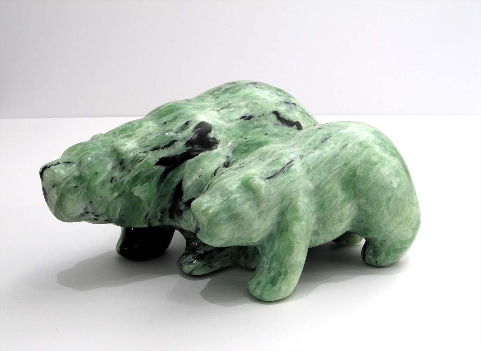 Mother and Cub - Polar Bears - Jim Flaman