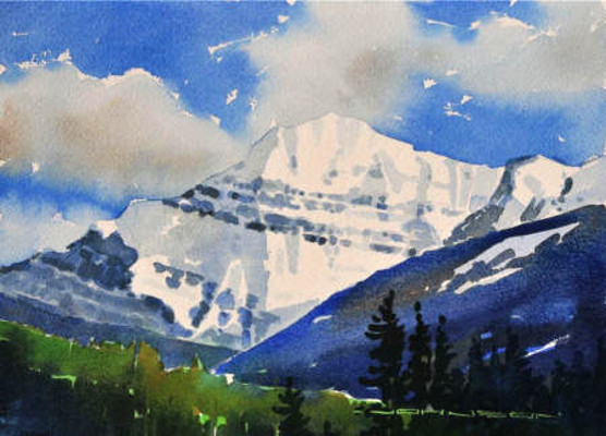 Mount Edith Cavell Gregg Johnson