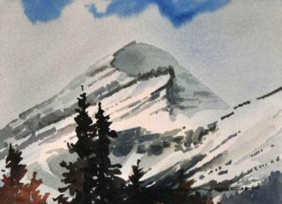 Mount Outram Gregg Johnson