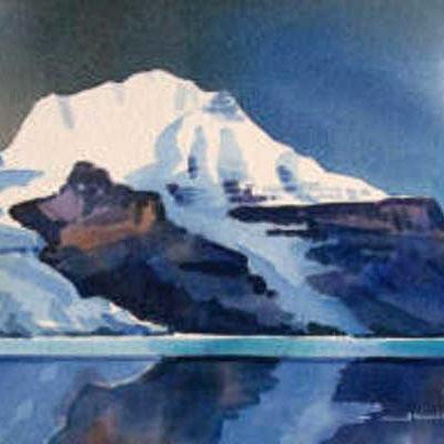 Mount Robson Berg Lake Gregg Johnson