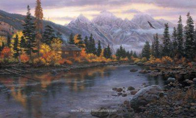 Mountain Hideaway - Darrell Bush