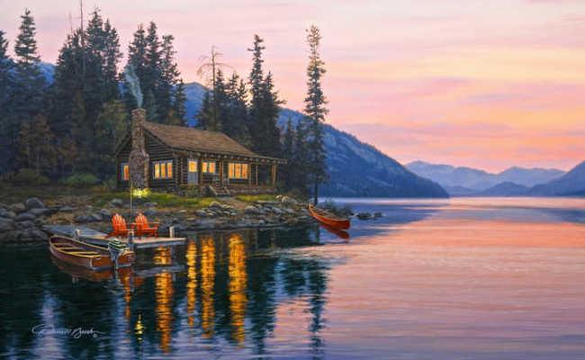 Mountain Retreat Darrell Bush