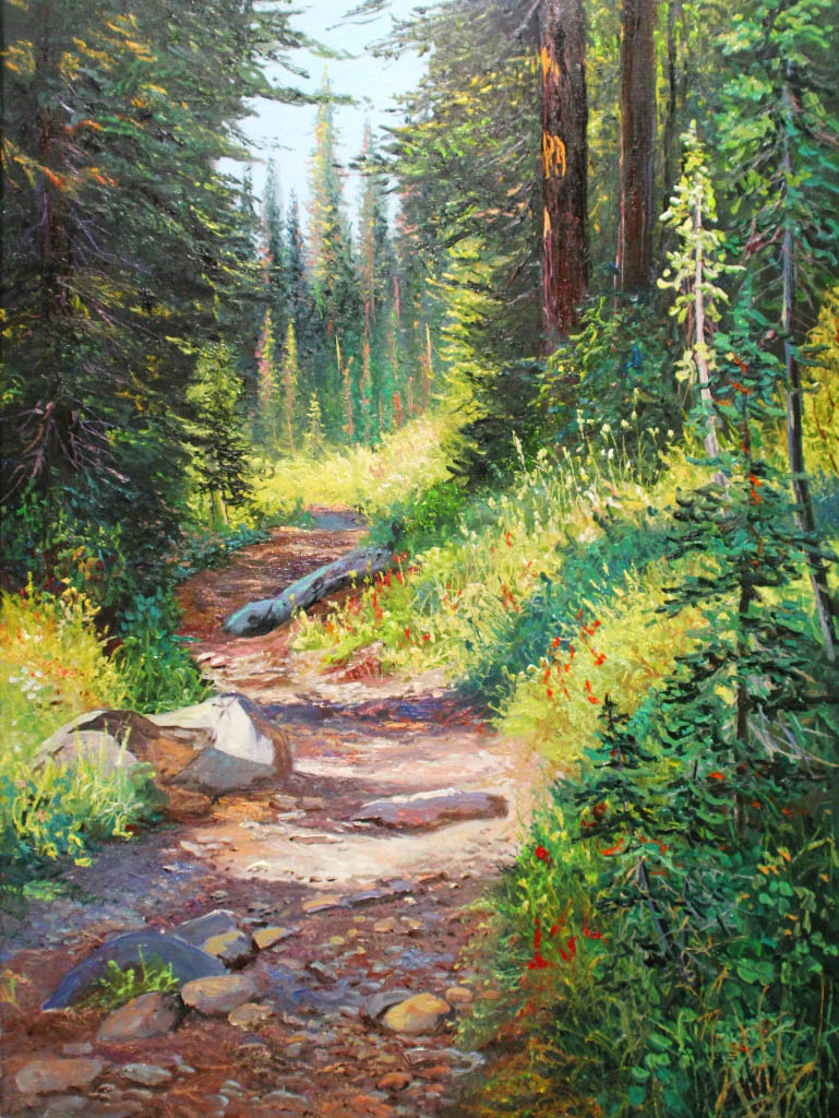Mountain Trail - Andrew Kiss