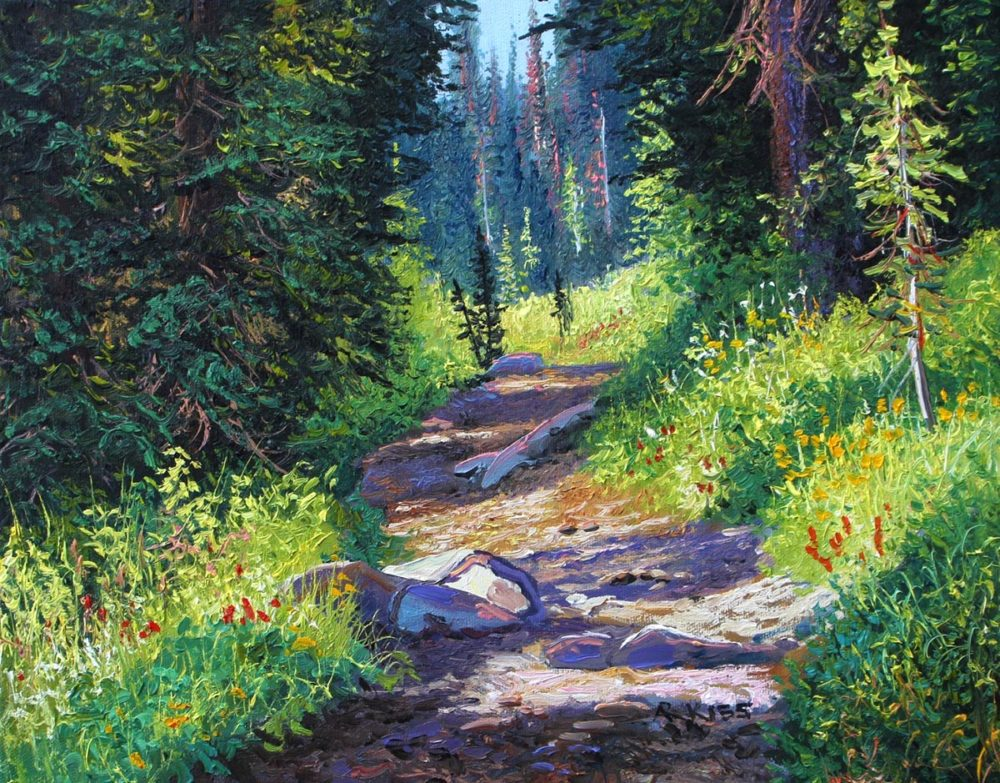 Mountain Trail III - Andrew Kiss