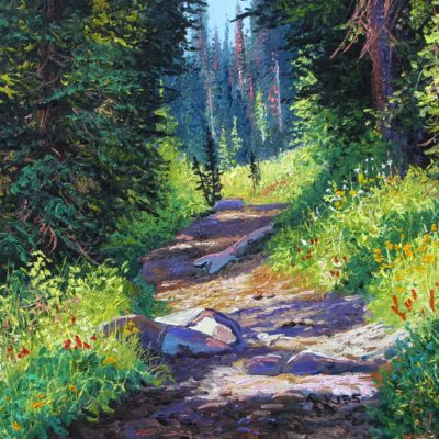 Mountain Trail III - Andrew Kiss