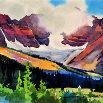 Mt Athabasca Back Side Gregg Johnson