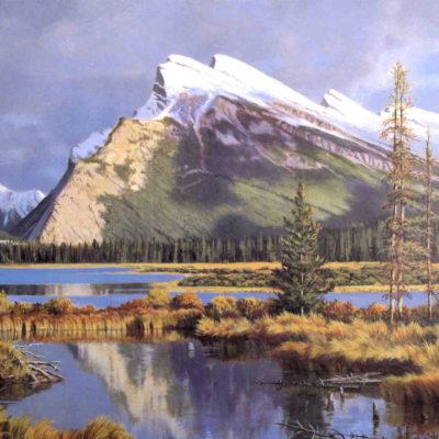 Mt. Rundle Banff Isabel Levesque